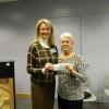 Presentation of Donation to Cornerstones