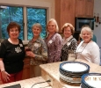 Dolores Butler, Betty Reed, Margaret Nichols, Terry Morrow and Ann Herlich