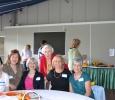 L-R; Karen Diamond, Gwen Cohen, Betty Reed, Ursula Precht, Carole Smithline and Joanne Esposito