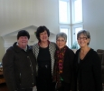 L to R: Janet Findley, Dottie Batie, Joanne Esposito and Joyce Summers