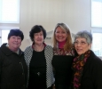 L to R: Janet Findley, Dottie Batie, Susan Ragland and Joanne Esposito